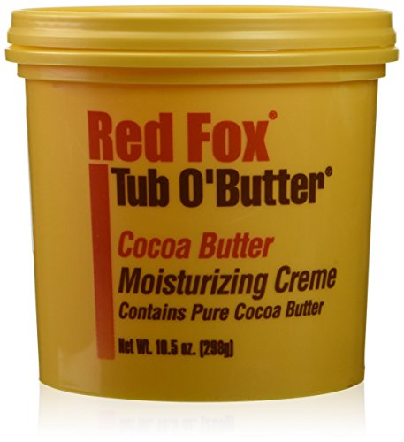 Red Fox Tub O'Butter Cocoa Butter 10.5 oz. (Case of 6) ()