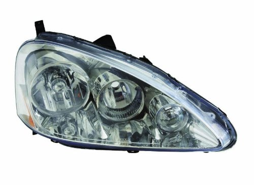 Depo 317-1143P-US1 Acura RS-X Chrome Headlight Unit Set