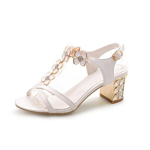 EYR00060 5 Blanc Aimint Ouvert Femme Blanc Bout 36 Hxq7SpRw