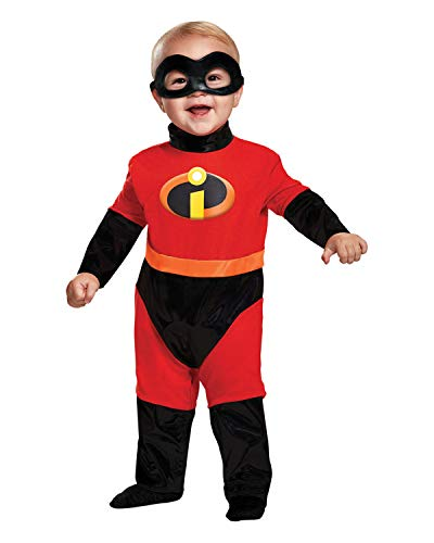 Disguise Baby Incredibles Infant Classic Costume, red -