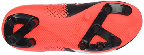Puma Evospeed 5.5 FG Jr - Botas de Fútbol Unisex Niños Multicolor (Black/White/Red Blast 03)