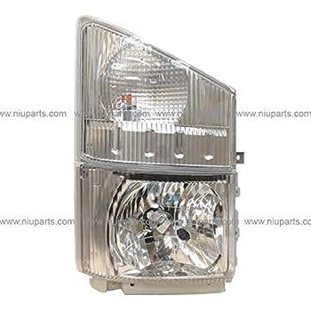 2011 2012 ISUZU NPR HD NQR Truck New Driver Side Headlight /& Signal Light
