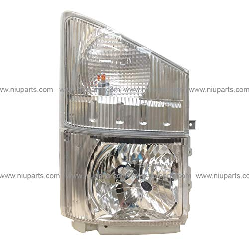 HeadLight with Corner Lamp - Passenger Side (Fit: Isuzu NRR and NPR 2008-2017 Truck)
