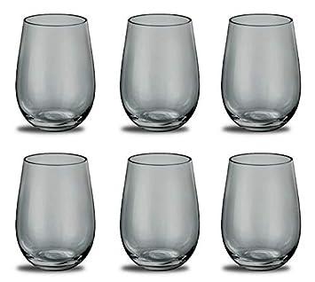 Prime Versand Design Trinkglas Farbe Cool Grey Universalglas