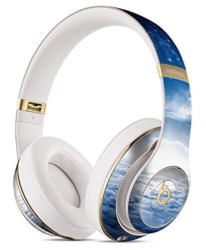 Vivid Blue Falling Stars in the Night Sky DesignSkinz Full-Body Skin Kit for the Beats by Dre Studio Remastered Wireless Headphones / Ultra-Thin / Matte Finished / Protective Skin Wrap