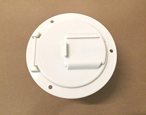 (Valterra White Electric Power Cord Medium Round Cable Hatch 3.5
