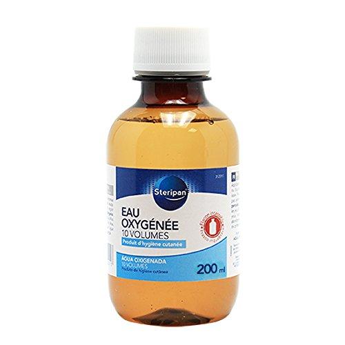 Steripan Eau Oxygénée 10 Vol 200 ml Flacon Incassable Lot de 2