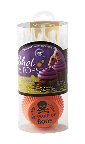 Wilton Skull Shot Tops Flavor Infusers Cupcake Kit Wilton Cupcake Recipe