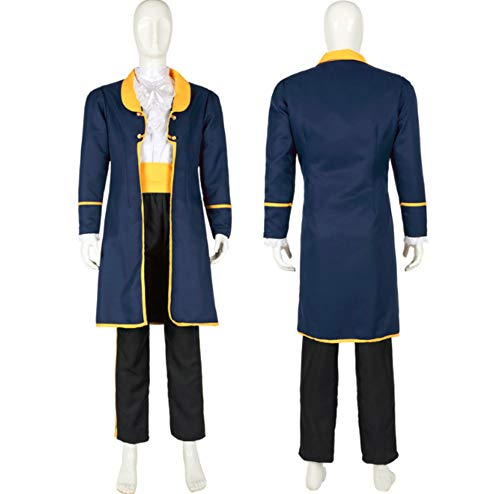 Mitef Beauty and The Beast Prince Adam Cosplay Outfits for Adult, XL ()