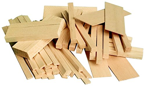 Sax Midwest Products Project Woods Balsa Economy Bag, Assorted Sizes - 407055]()