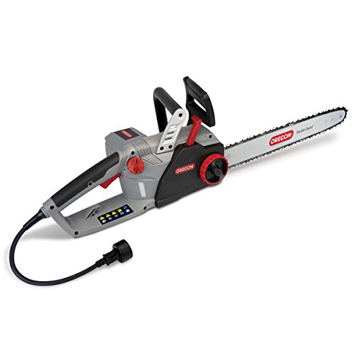 (Oregon CS1500 18 in. 15 Amp Self-Sharpening Corded Electric Chainsaw)
