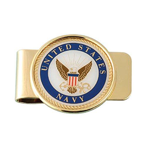 USN (Navy) Money Clip, Card Holder