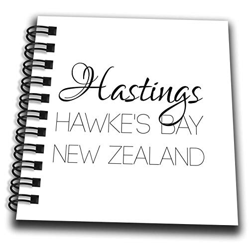 Hastings Mini (3dRose Alexis Design - New Zealand Cities - Hastings Hawkes Bay, New Zealand. Patriot, Region, Home Town Design - Mini Notepad 4 x 4 inch (db_308556_3))