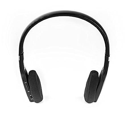 Elbe ABT-032-NE - Auriculares de diadema Bluetooth (plegables, con micrófono), color negro: Amazon.es: Electrónica