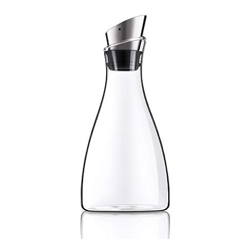 Amazon.com: Purefold - Jarra de cristal con tapa de acero ...