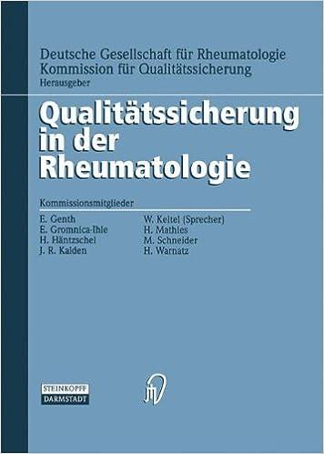 Book Therapie I (Qualitätssicherung in der Rheumatologie)
