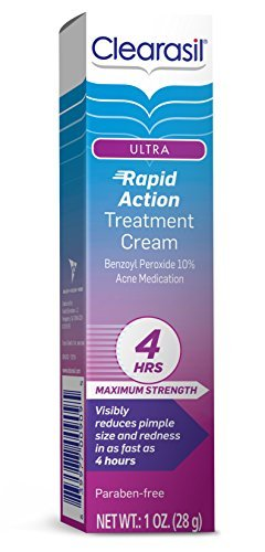 Clearasil Ultra Rapid Action Vanishing Treatment Cream, 1 oz