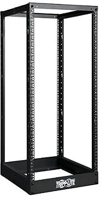 Tripp Lite SR4POST13 13U 4-Post Open Frame Rack Cabinet Square Holes 1000lb Capacity