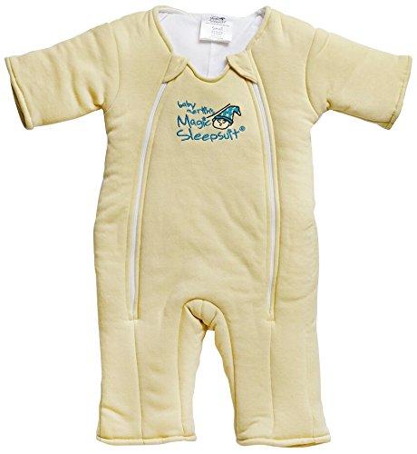 Baby Merlin's Magic Sleepsuit Cotton-Yellow-3-6 months