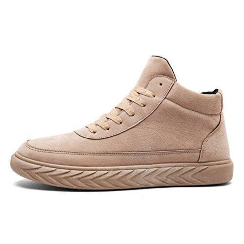 Sport LFEU de Homme Chaussure Chaussure Beige Antichoc Basket Sneakers 39 Haute Classique Skate Vintage Chaud 44 Course Trail Basket pqqFntrx