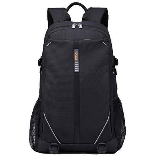 Gaming Laptop Backpack 17.3 Inch with USB Charge Port, Waterproof Computer Bag Notebook Rucksack for Dell, Asus, Msi,Hp Gaming Laptops (17.3 inch)