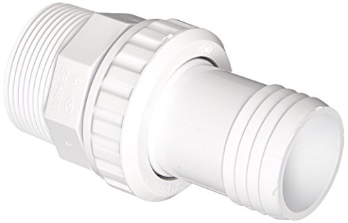 (Hayward SP1493 1-1/2-Inch MIP White ABS Quick Disconnect Econo Union with 1-1/2-Inch Hose Barb)