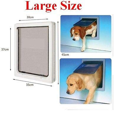 Amazon Fidgetgear Large Dog Door Cat Pet Door Extra Large 17 X