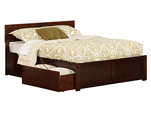 Atlantic Furniture AR8132114 Orlando Full Platform Bed with