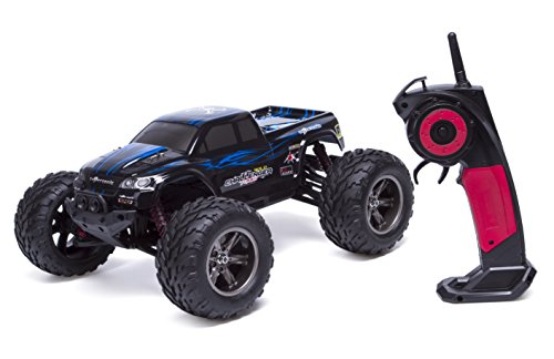 Amgaze S911 35MPH 1/12 Scale 2.4GHz Remote Control Monster Truck (Blue)