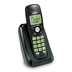 vtech va17141bk dect 6 0 cordless phone with caller id wall mountable black. Black Bedroom Furniture Sets. Home Design Ideas