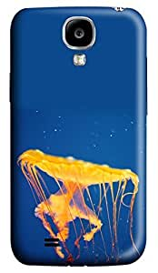 Brian114 Samsung Galaxy S4 Case, S4 Case - Customized 3D Designs Snap-on Case for Samsung Galaxy S4 I9500 Jellyfish Invasion Best Protective Back Case for Samsung Galaxy S4 I9500