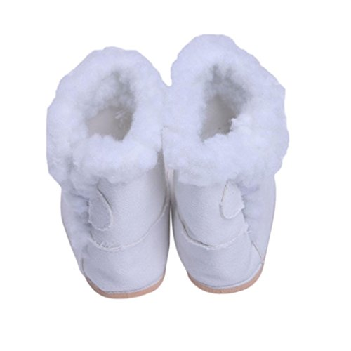 by Accessory Suede 18inch Doll Yukong Boots Shoes White American Girl B8dq0