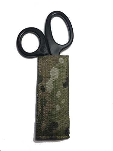 Multicam American Made Rapid Scissor Pouch Tactical Paramedic EMT Medic Shears - Sheath Shears