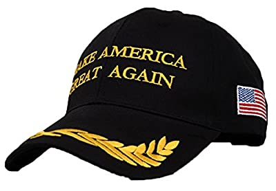 CHUNG Adult Adjustable Trump Hat Cotton Cap Make America Great Again
