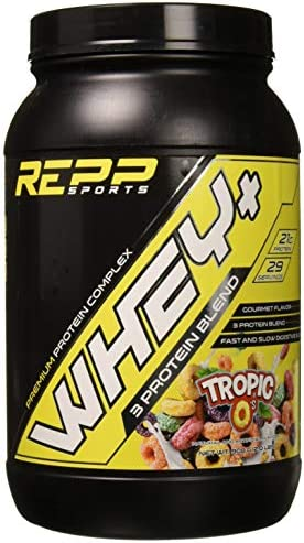 Repp Sports Whey Premium Protein Tropic O s, 2 lbs