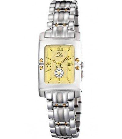 Jaguar J285/CH - Reloj de mujer de cuarzo swiss made, cadena de acero, esfera color champagne: Amazon.es: Relojes
