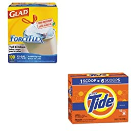 KITCOX70427PAG27782 - Value Kit - Procter amp; Gamble Professional Ultra Laundry Detergent (PAG27782) and Glad ForceFlex Tall-Kitchen Drawstring Bags (COX70427)