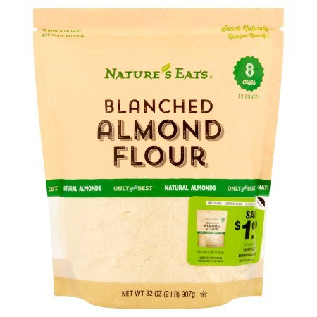 Nature's Eats Blanched Almond Flour, 32 Ounce(Pack of 6)