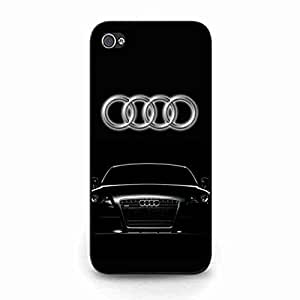 Charming Audi Logo Funda,Audi Logo Iphone 5C Case,Audi Funda Black Hard Plastic Case Cover For Iphone 5C