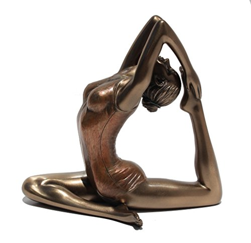 yoga figurines made of bronze - 1