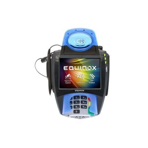 Hypercom Equinox Payments L5300 Payment Terminal Contactless Black Pci3 Emv4 Sig Cap Pin Pad 5 7  Touchscreen Comms Usb Pwr Usb Ethernet  Power Supply Not Included Pricing Includes Mandatory  10   010368 612E