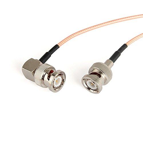 Cable CGPro Ultra delgado en ángulo derecho BNC a BNC macho HD-SDI ...