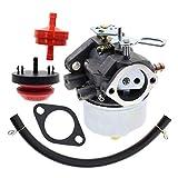 MOTOALL Adjustable Carburetor Carb Tune up kit for Tecumseh 7HP 8HP 9HP 10HP Snowblower 640349 640052 640054 632334A 632334 632370A 632370 632110 HM70 HM80 HM100 HMSK80 HMSK90 HMSK100 LH318SA LH358SA