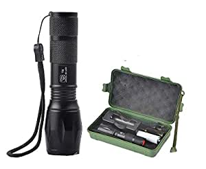 2000-Lumens-Adjustable-Focus-Zoomable-Flashlight-Torch-black