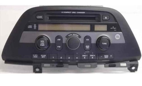 HONDA ODYSSEY OEM Radio Stereo 6 Disc Changer MP3 CD Player XM ready MODEL NUMBER 39100-SHJ-A100 Cd Changer Control Model