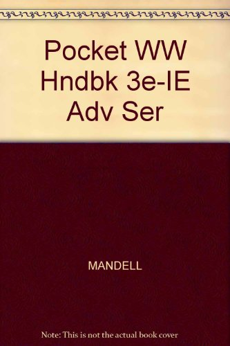 Pocket WW Hndbk 3e-IE Adv Ser ()