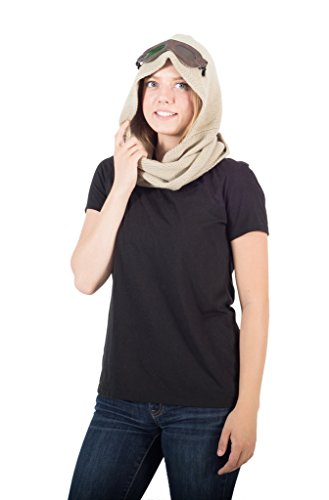 Star Wars The Force Awakens Rey Hooded Scarf