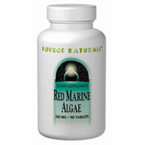SOURCE NATURALS Red Marine Algae 350Mg 90T, 90 CT