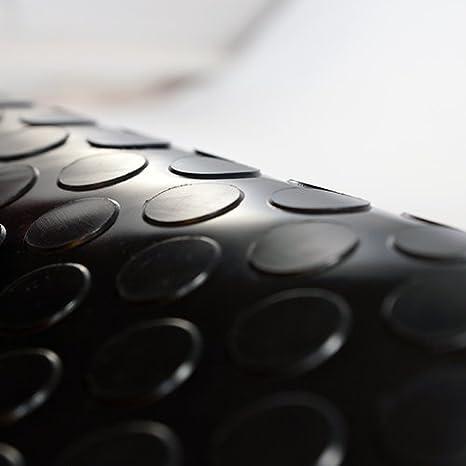St/ärke: 4,5mm 2m/² Noppenmatte Farbe: schwarz 1,50m x 1,34m