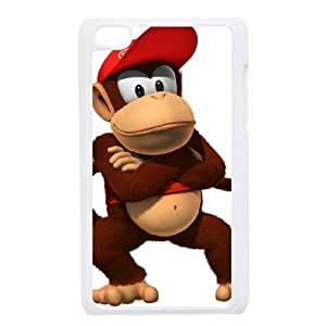 iPod Touch 4 Case White Super Smash Bros Diddy Kong Q0K5LO